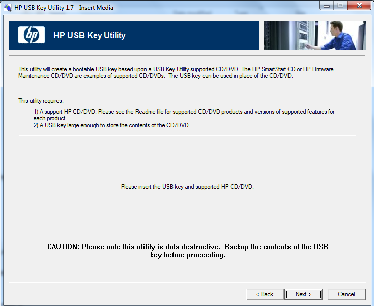 HP USB Key Creator Utility Version 1 7 0 0 | Be your own BOSS