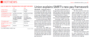 SMRT drivers pay framework
