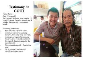 Testimony-Jeunesse-Gout-health