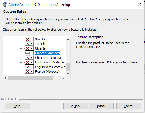 Where to download Asian and Extended Language Pack for Adobe