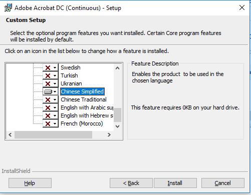 adobe acrobat reader dc font pack (continuous) free download